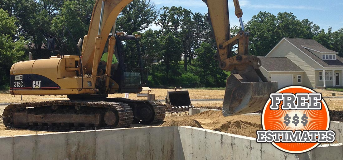 Excavating Contractors, Dodge County Wisconsin